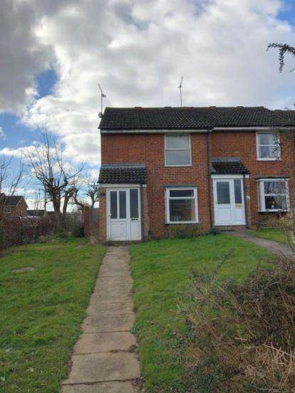 2 Bedrooms End Of Terrace House for sale in Lomond Drive, Leighton Buzzard, Bedfordshire