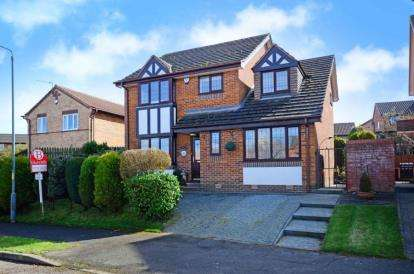 4 Bedrooms Detached House for sale in The Meadows, Ashgate, Chesterfield, Derbyshire