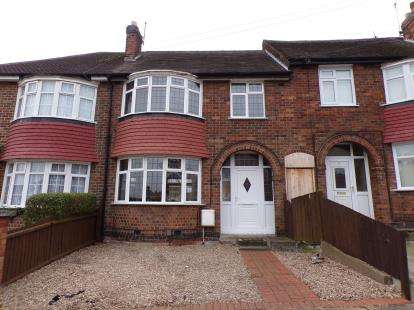3 Bedrooms Terraced House for sale in Babingley Drive, Stadium Estate, Leicester, Leicestershire