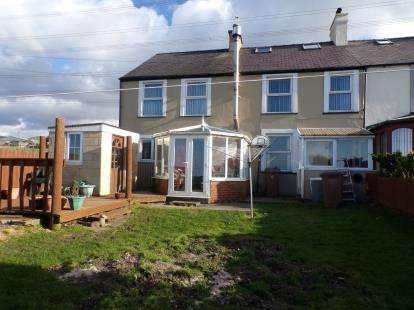 3 Bedrooms End Of Terrace House for sale in Green Bank, Groeslon, Caernarfon, LL54