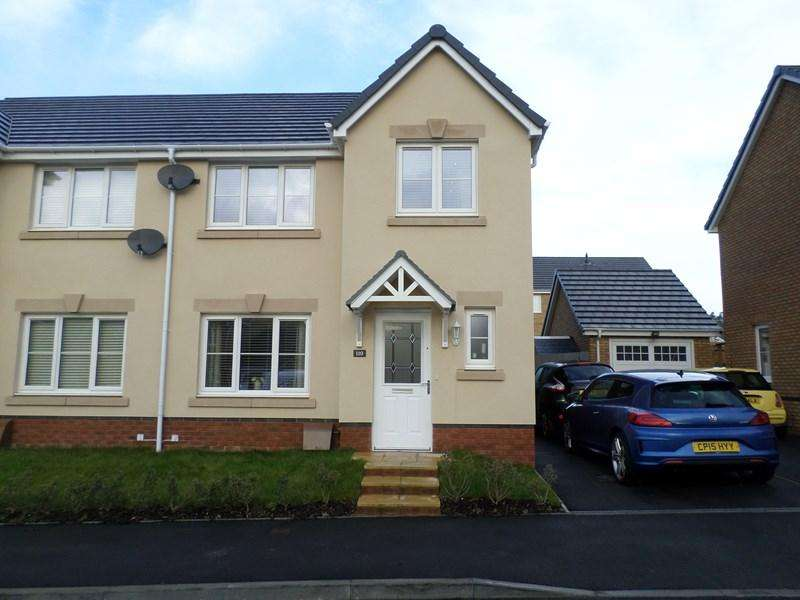 3 Bedrooms Semi Detached House for sale in Worcester Court, Tonyrefail, Porth