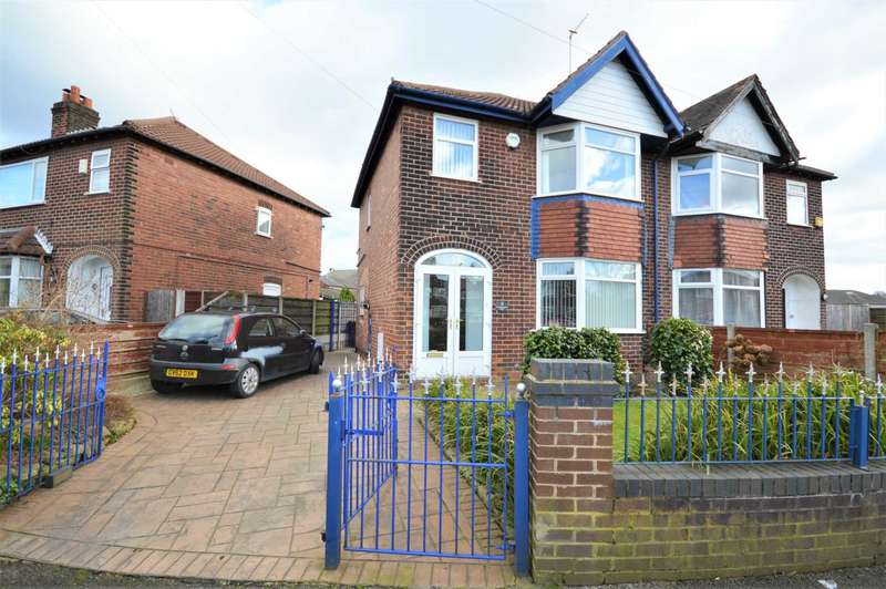 3 Bedrooms Semi Detached House for sale in Sandringham Road, Bredbury