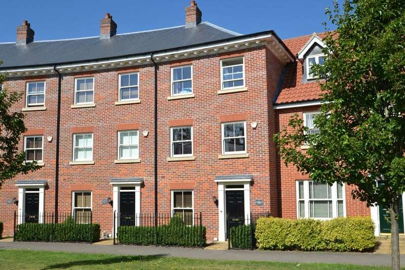 4 Bedrooms Town House for sale in Grosvenor Close, Ipswich, Suffolk, IP4 2TU