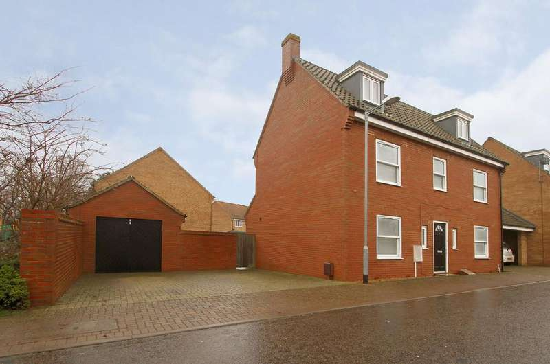 5 Bedrooms Detached House for sale in Briar Road, Hethersett