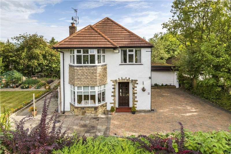 4 Bedrooms Detached House for sale in The Crescent, Adel, Leeds, West Yorkshire