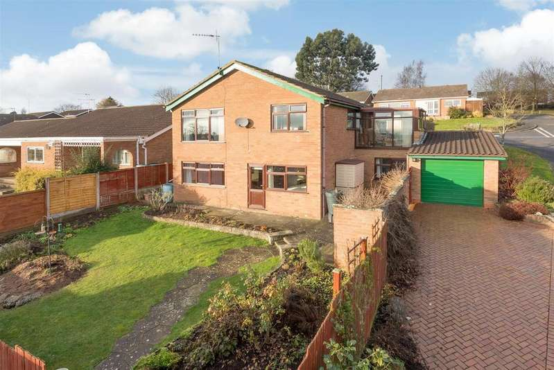 5 Bedrooms Detached House for sale in Berwick Close, Warwick