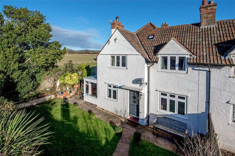 4 Bedrooms End Of Terrace House for sale in Staplegrove Cottages, Staplegrove, Taunton, Somerset