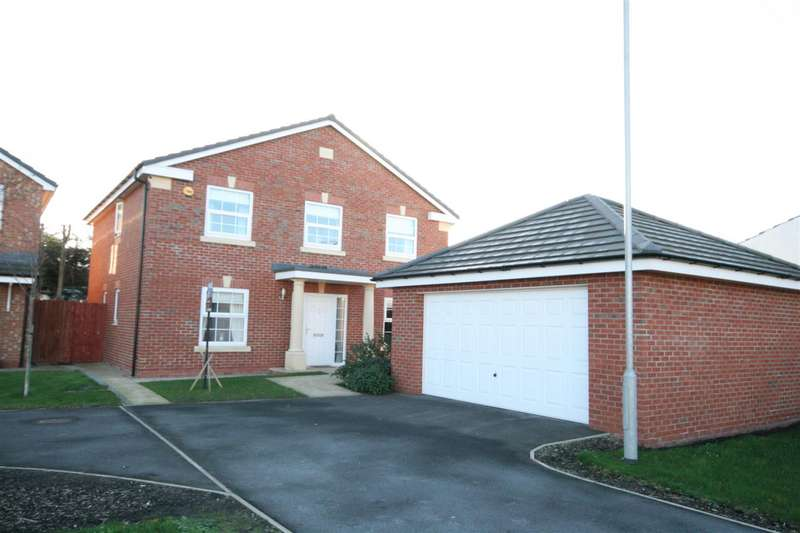 4 Bedrooms Detached House for sale in Redwood Drive, Westby, Blackpool