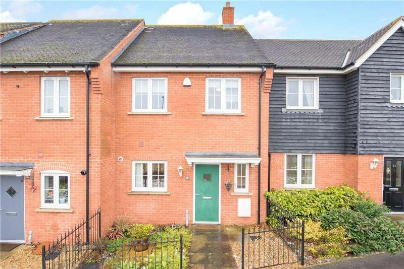 3 Bedrooms Terraced House for sale in Leys Close, Buckingham Park, Aylesbury, Buckinghamshire
