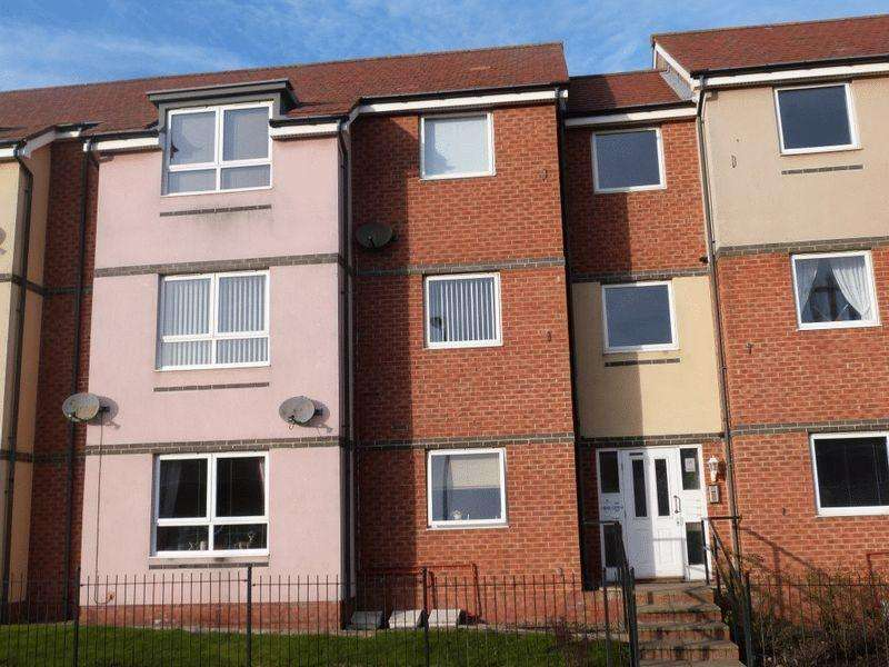2 Bedrooms Apartment Flat for sale in Hindmarsh Drive, Ashington, Two Bedroom First Floor Apartment