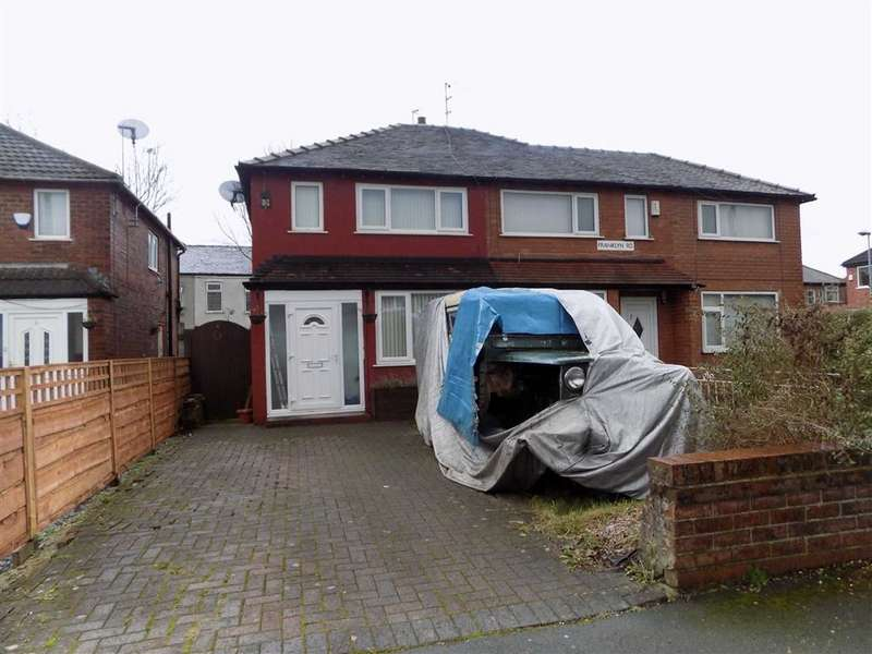2 Bedrooms Semi Detached House for sale in Franklyn Road, Manchester