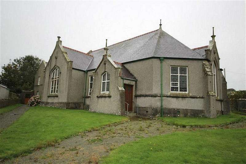 3 Bedrooms Detached House for sale in School Room And Chapel House, Llanfaethlu, Holyhead, LL65