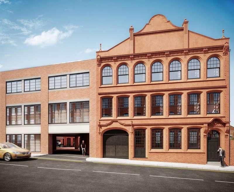 1 Bedroom Apartment Flat for sale in Million Pen Building, Jewellery Quarter