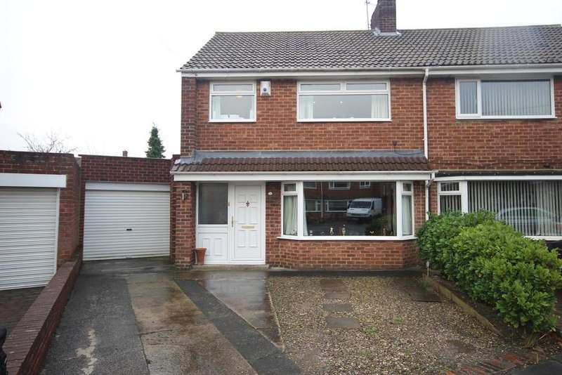 3 Bedrooms Semi Detached House for sale in Thorntree Close, West Monkseaton, NE25