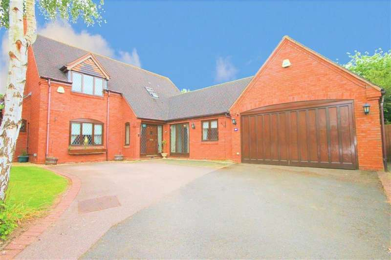 5 Bedrooms Detached House for sale in Field Farm Drive, EDINGALE, B79 9LF