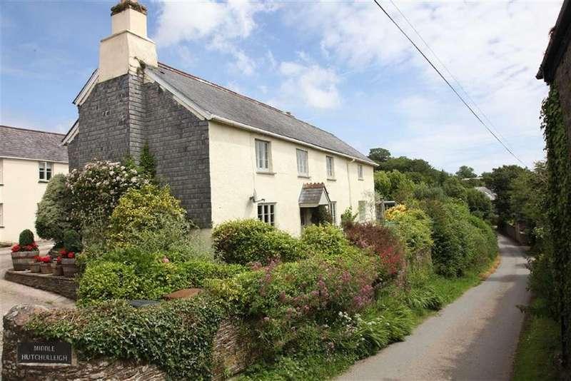 4 Bedrooms Detached House for sale in Middle Hutcherleigh, Blackawton, Devon, TQ9