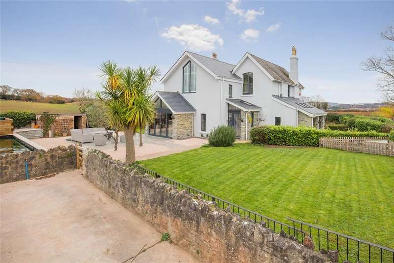 4 Bedrooms Detached House for sale in Priory Road, Abbotskerswell, Newton Abbot, Devon, TQ12