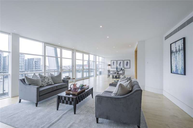5 Bedrooms Flat for sale in The Icon, Grosvenor Road, London, SW1V