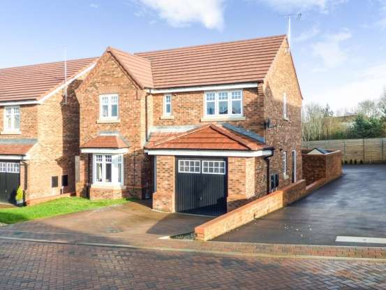 4 Bedrooms Detached House for sale in Nightingale Grove, Alfreton, Derbyshire, DE55 2GG