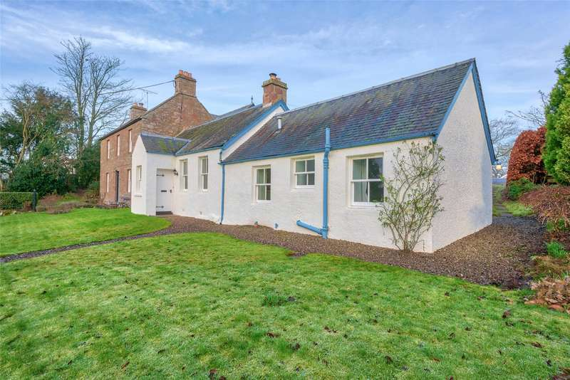 2 Bedrooms Semi Detached House for sale in The Old School Cottage, Kettins, Blairgowrie, Perthshire, PH13
