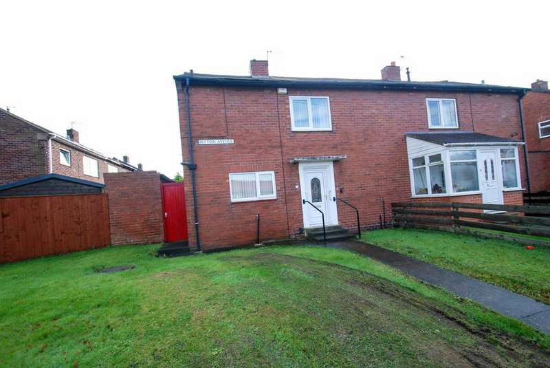 2 Bedrooms Semi Detached House for sale in Blyton Avenue, South Shields