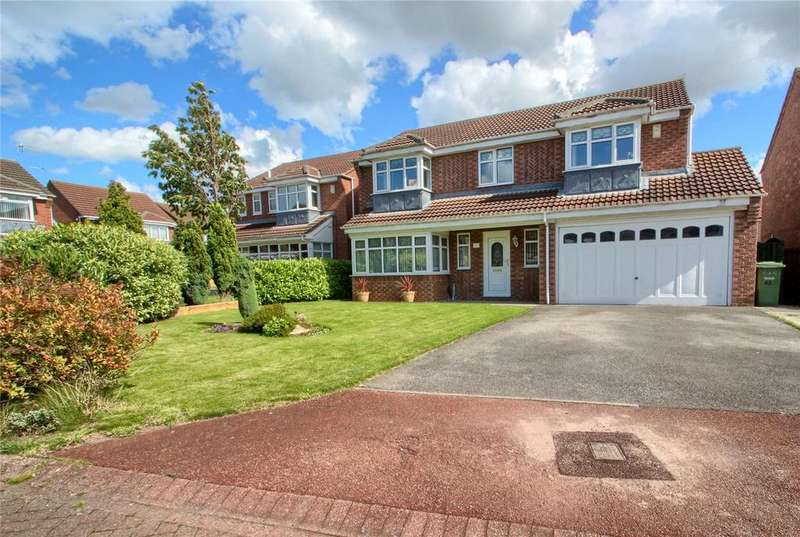 5 Bedrooms Detached House for sale in Castlemartin, Ingleby Barwick