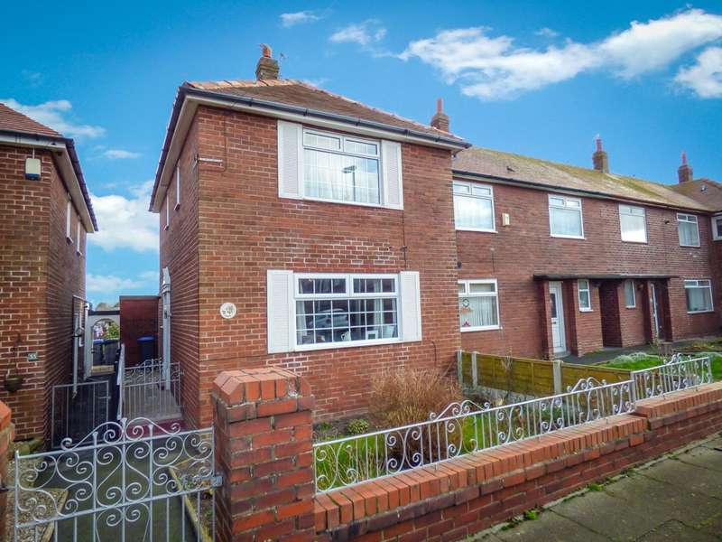 2 Bedrooms End Of Terrace House for sale in Ardmore Road, Bispham, Blackpool
