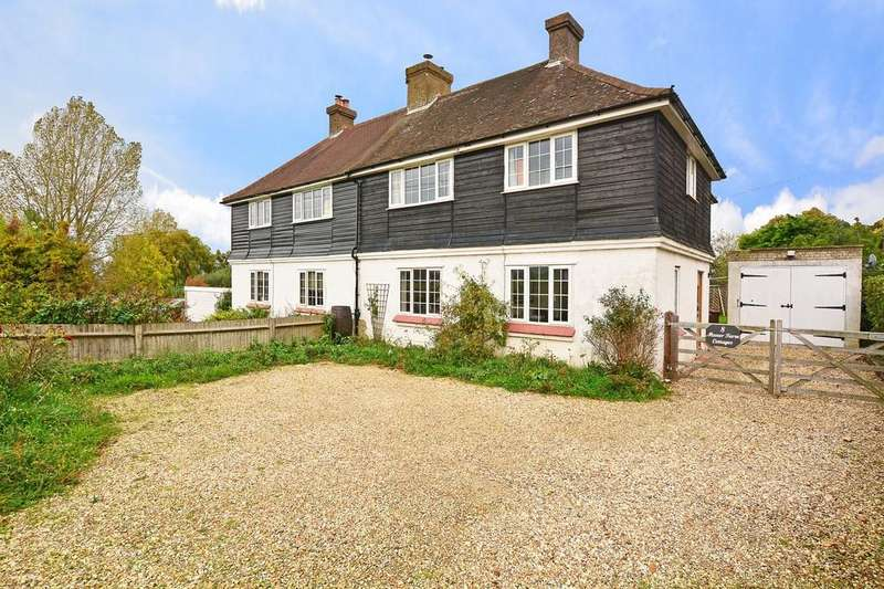 4 Bedrooms Semi Detached House for sale in Wanborough Hill, Normandy