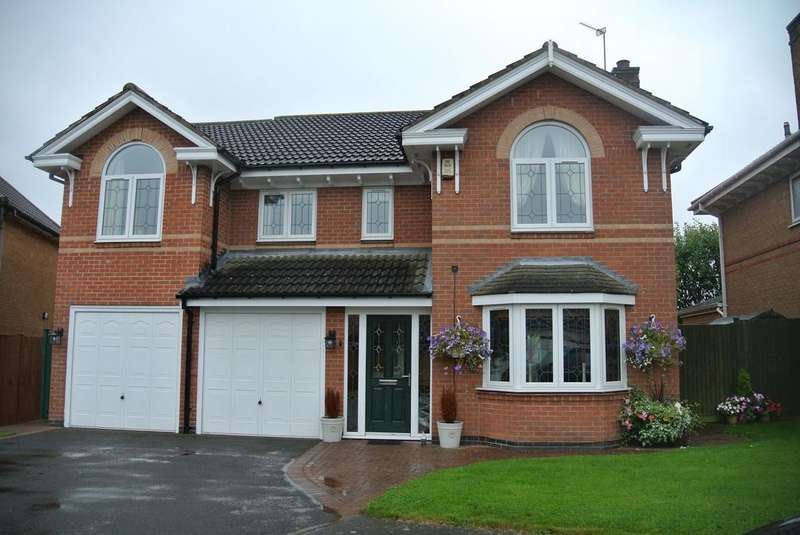 5 Bedrooms Detached House for sale in Yew Close, Leicester Forest East, Leicestershir LE3
