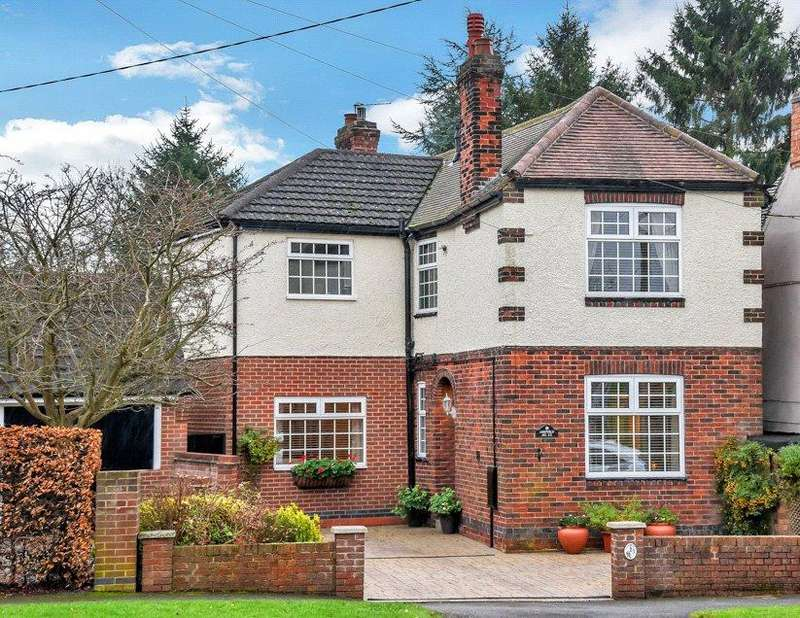 4 Bedrooms Detached House for sale in Packington, Ashby-de-la-Zouch