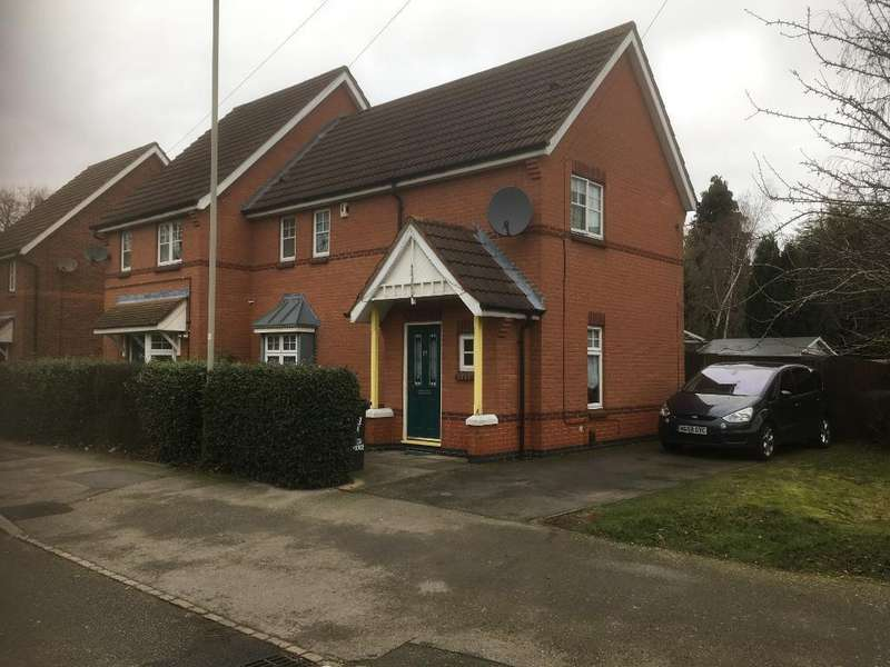 3 Bedrooms Semi Detached House for sale in Ardern Terrace, Braunstone, Leicester, Leicestershire, LE3 1EA