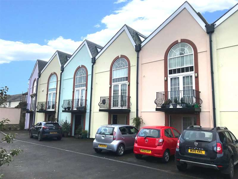 3 Bedrooms Terraced House for sale in Stringfellow Mews, Holyrood Street, Chard, Somerset, TA20