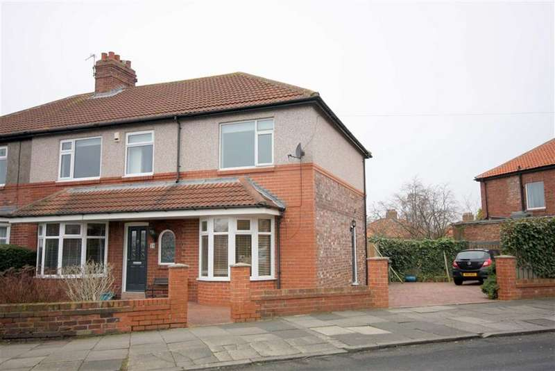 4 Bedrooms Semi Detached House for sale in Beverley Road, Monkseaton, Tyne & Wear, NE25