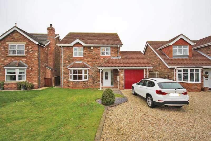 4 Bedrooms Detached House for sale in ROSEMARY WAY, CLEETHORPES