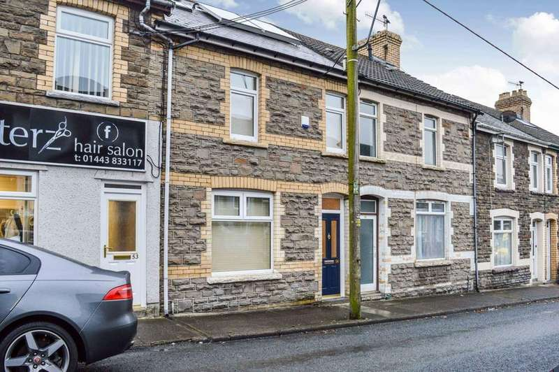 2 Bedrooms Terraced House for sale in Ruth Street, Bargoed