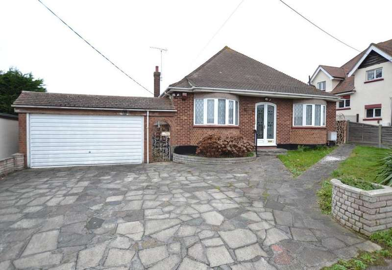 3 Bedrooms Detached Bungalow for sale in Bowers Court Drive, Bowers Gifford, Basildon, Essex, SS13