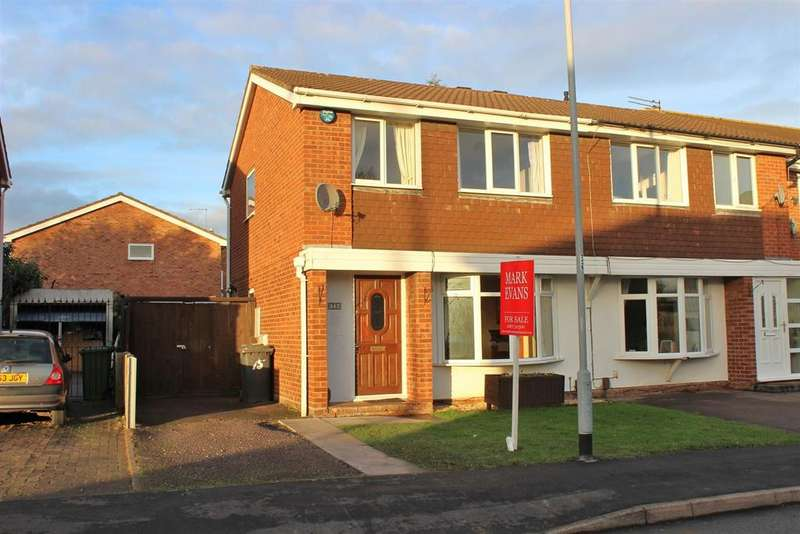 3 Bedrooms Semi Detached House for sale in Cottage Farm Road, Dosthill, Tamworth