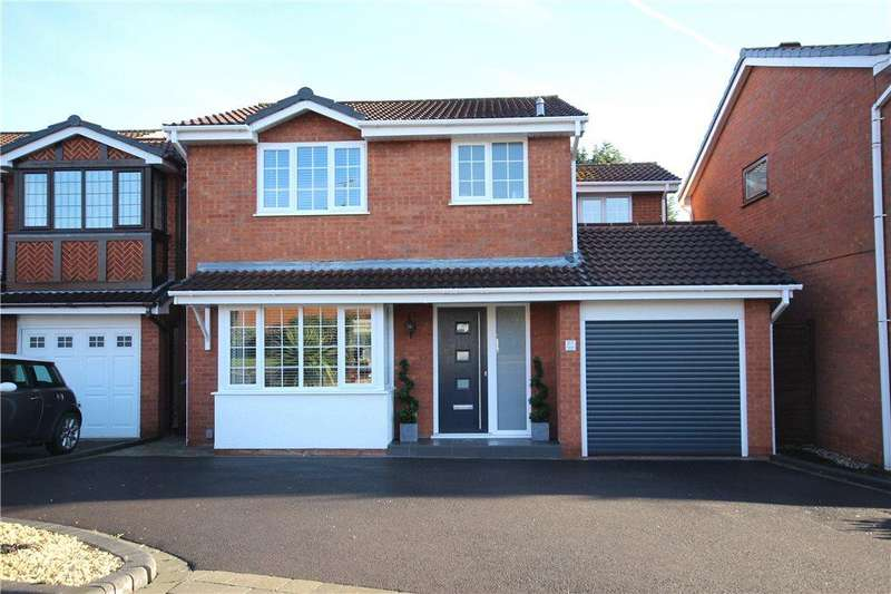 3 Bedrooms Detached House for sale in Finwood Close, Solihull, West Midlands, B92