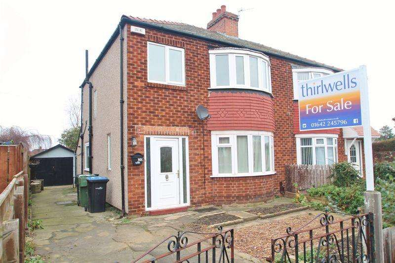 3 Bedrooms Semi Detached House for sale in Buttermere Avenue, Acklam