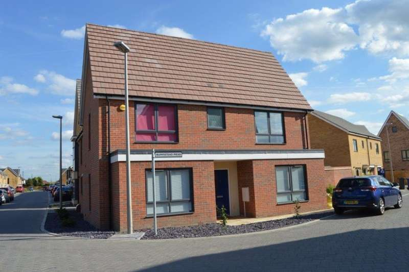 4 Bedrooms Detached House for sale in Bumpstead Mead, Aveley