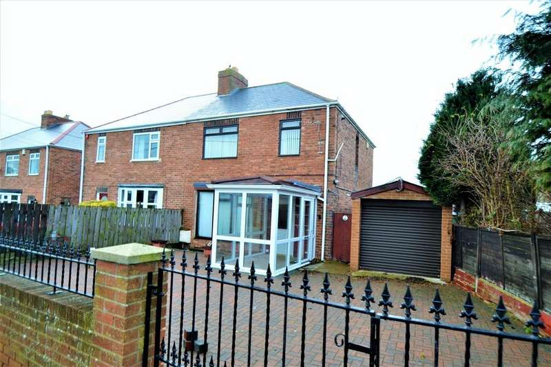 3 Bedrooms Semi Detached House for sale in Duncombe Bank, Ferryhill