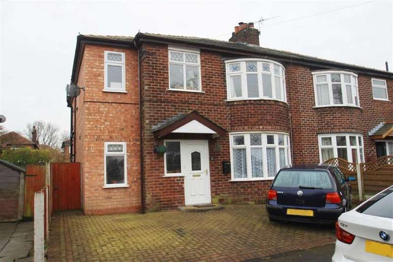 4 Bedrooms Semi Detached House for sale in Meriton Road, Handforth