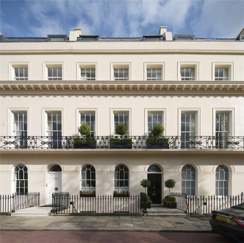 5 Bedrooms Terraced House for sale in Chester Terrace, Regent's Park, London, NW1