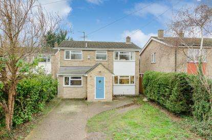 4 Bedrooms Detached House for sale in Brook Lane, Great Barford, Bedford, Bedfordshire