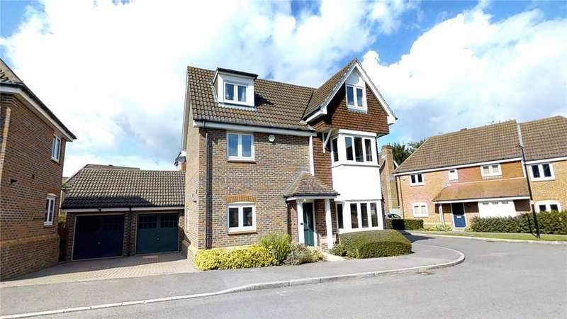 4 Bedrooms Detached House for sale in Michael Lane, Guildford, Surrey, GU2