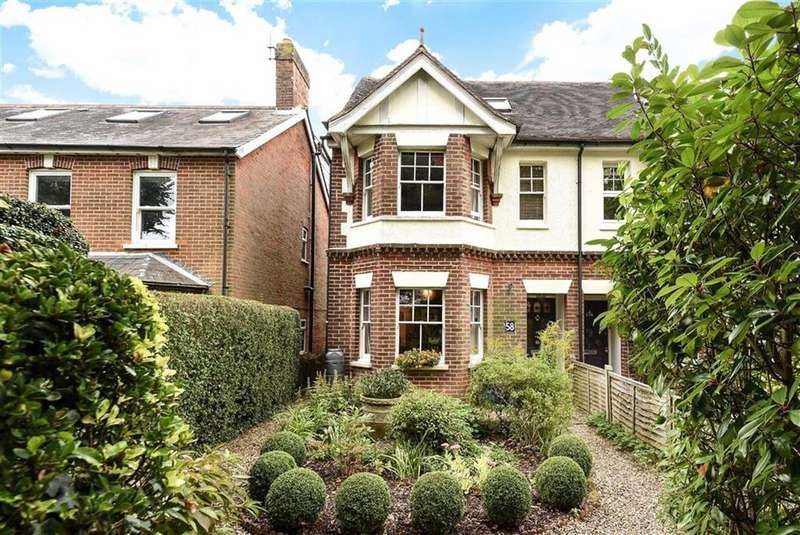 4 Bedrooms Semi Detached House for sale in Ridgway Road, Farnham