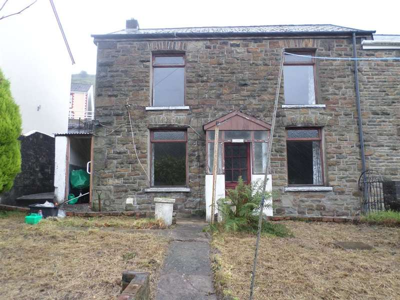 3 Bedrooms Terraced House for sale in Craig-Fryn Terrace, Nantymoel Bridgend CF32 7PD