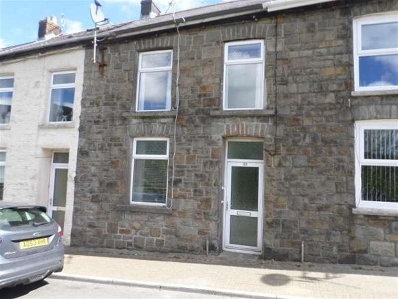 2 Bedrooms Terraced House for sale in Pembroke Terrace, Nantymoel, Bridgend, CF32 7NY