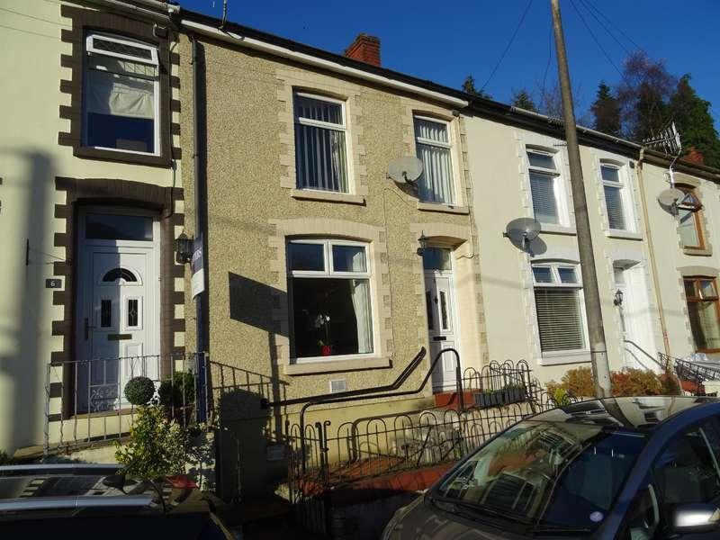 3 Bedrooms Terraced House for sale in Oak Terrace, Ogmore Vale, Bridgend, CF32 7DU
