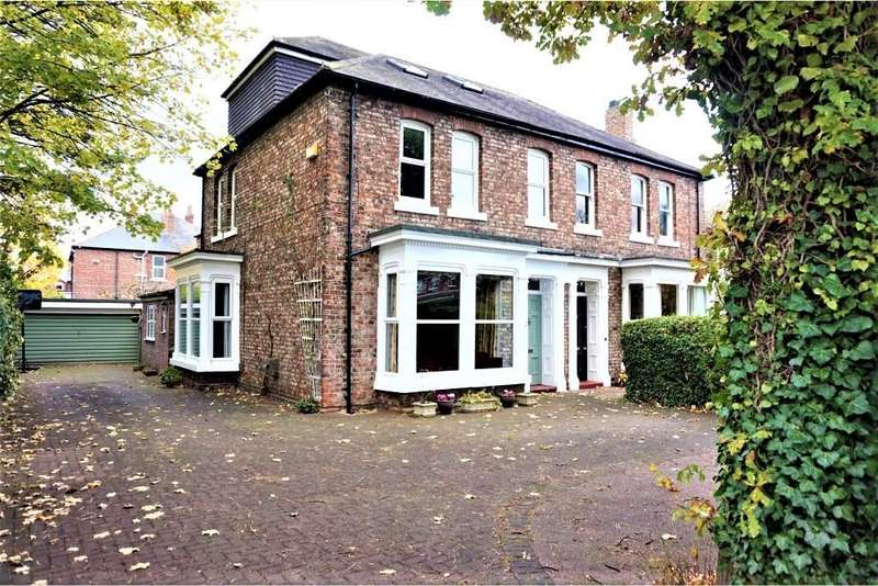 5 Bedrooms Semi Detached House for sale in Yarm Road, Eaglescliffe, Stockton-On-Tees